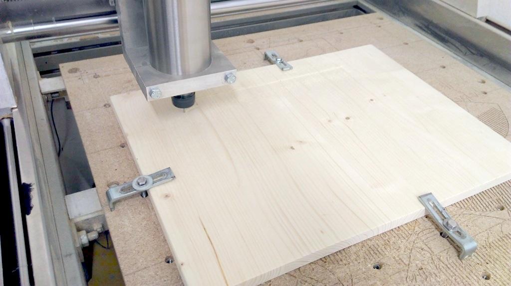 Usposabljanje za samostojno uporabo CNC-rezkarja