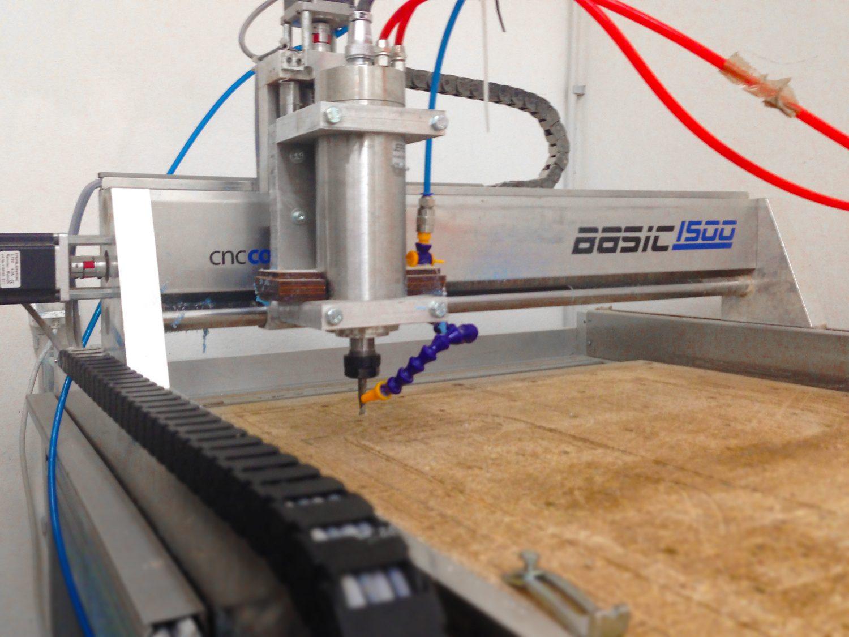 Usposabljanje za samostojno uporabo CNC rezkalnika