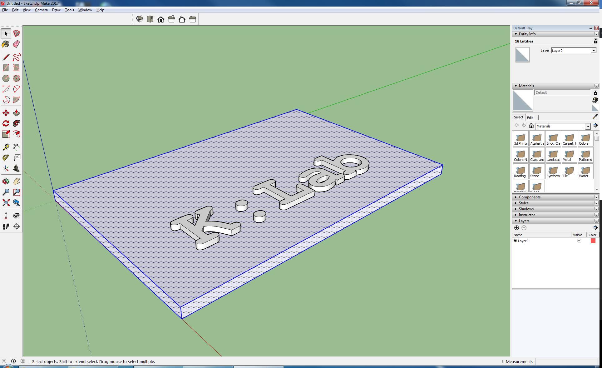 3D modeliranje za (ne čisto) telebane in načrtovanje zahtevnejših modelov z orodjem SketchUp