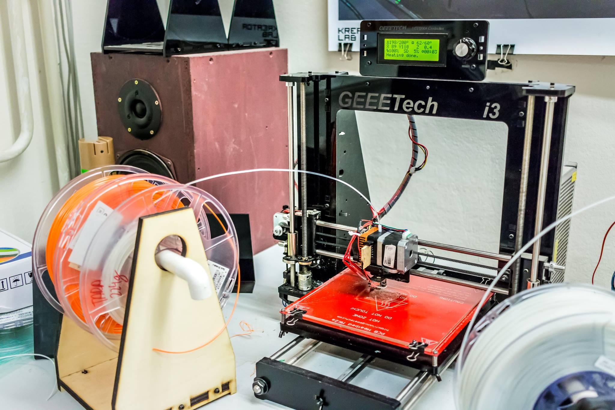 Usposabljanje za samostojno uporabo 3D tiskalnika