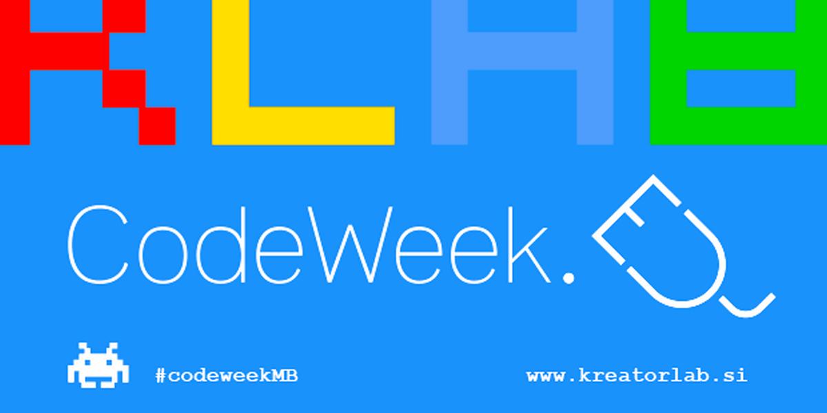 (G)CodeWeek !! CodeWeek !! CodeWeek !! CodeWeek